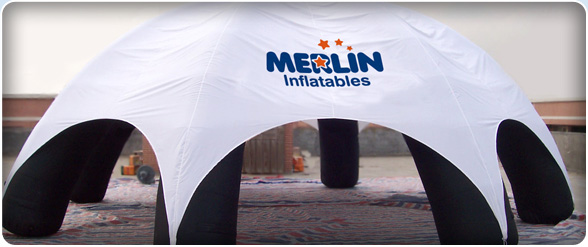 Merlin Inflatables: Blimps, Balloons, Spheres, Roof Toppers, Product Replicas in the UK.